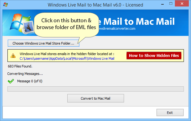 Windows 7 Convert EML to MBOX 6.1 full
